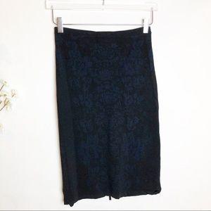 Banana Republic | Brocade Pattern Sweater Skirt